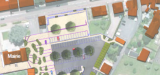 Plan du parking près de la Mairie